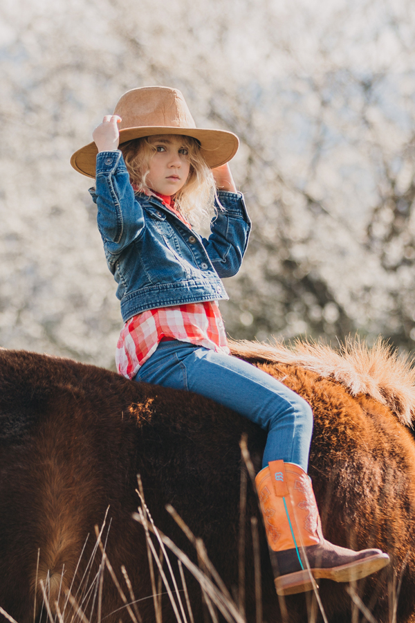Shooting enfant poney lifestyle